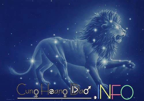 Ký hiệu của Sư Tử là hình omega(Ω).