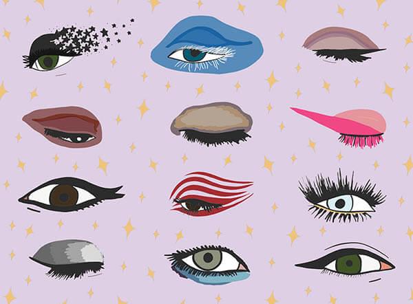 Đôi  mắt của 12 cung hoàng đạo? ai đẹp nhất?